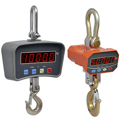 1/5 Ton Crane Scale Industrial Electronic Remote Control Hanging Hook Digital