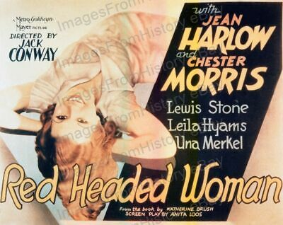 16x20 Poster Jean Harlow Red Headed Woman 1932 #5500368