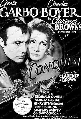 16x20 Poster Greta Garbo Charles Boyer Conquest 1937 #2016368