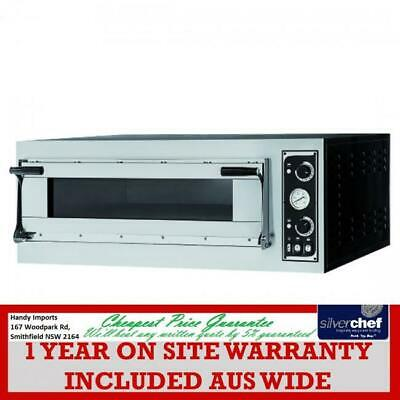 Fed Commercial Prisma Food Pizza Ovens Single Deck 4 X 40Cm Bread Bakery Tp-2-1
