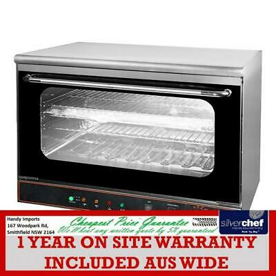 Fed Commercial Convectmax Convection Oven Steam 50 To 300°C Top Grill Co-01