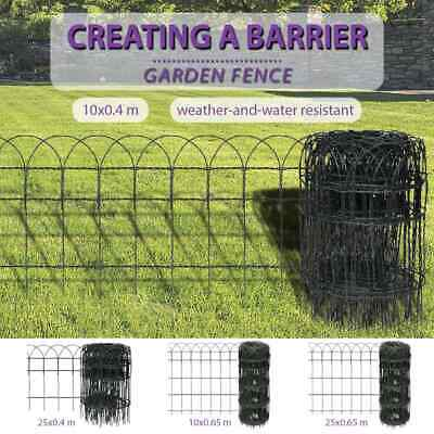 100x40/250x40/100x65/250x65cm Garden Lawn Edging Fence Mesh Border Wire Chain