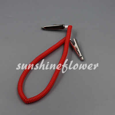 1 Pcs Dental Patient Neck Bib Clips Chains Napkin Holder Flexible Coil Plastic
