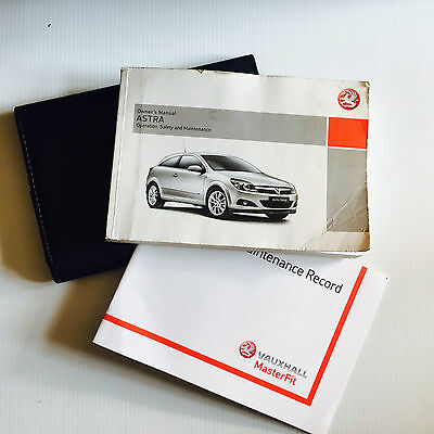Vauxhall Astra Vxr Handbook Wallet & Service Book Pack Pack 2006 To 2010