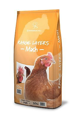 20KG Copdock Mill Range Country Layers Mash Meal Chickens Poultry Feed 20 kg