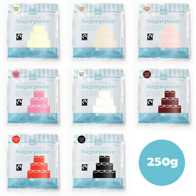Squires Kitchen Sugarpaste 1KG Multiple Colours Ready Roll Icing Fondant