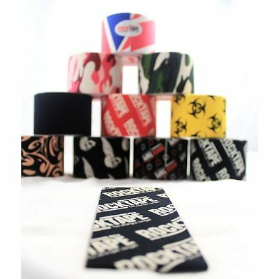 Rock Tape Kinesiology Tape Physio Running Sports Support (Various Colours)