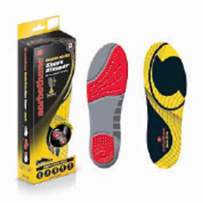 Sorbothane Double Strike / Sorobo-Pro Shock Absorber Insoles Sports Foot Care