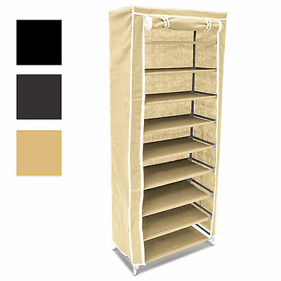 Shoe Organizing Wardrobe Fits 36 Pairs Of Shoes In 3 Colors Storage Solution