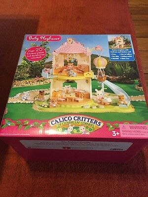 Calico Critters Baby Playhouse CC2216 Windmill New In Box w/dent Free Ship