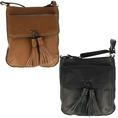 Ladies Clarks Leather Cross Body Bag Tils Anniston