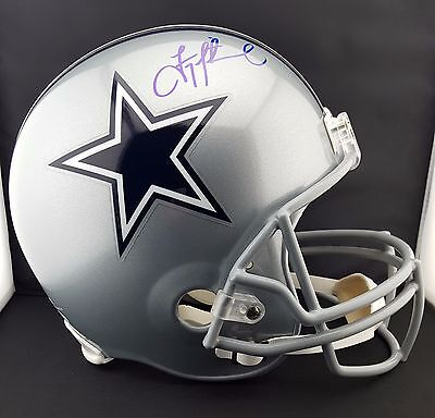 Troy Aikman Autographed Signed Dallas Cowboys Full Size Helmet JSA