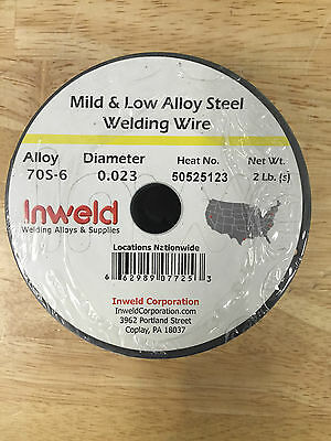 "High Quality 2 lb Roll ER70S-6 .023"" Steel MIG Welding Weld Wire 70s6 top brand"