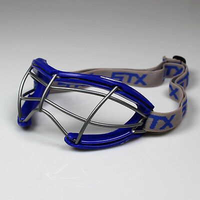NEW STX 2See Dual Sport Adult Lacrosse/Field Hockey Goggles - Royal