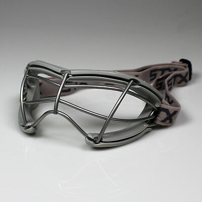 NEW STX 2See Dual Sport Adult Lacrosse/Field Hockey Goggles - Grey