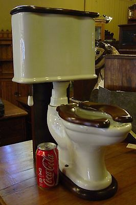 Unusual antique salesman sample Ariston commode toilet---1920s----------15249