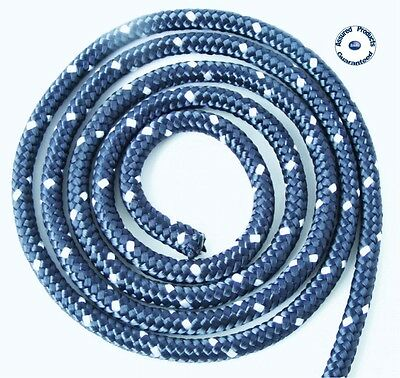 MMS Strong Polypropylene Braided Rope – Boat Anchor Line, Mooring Line, Sheeting