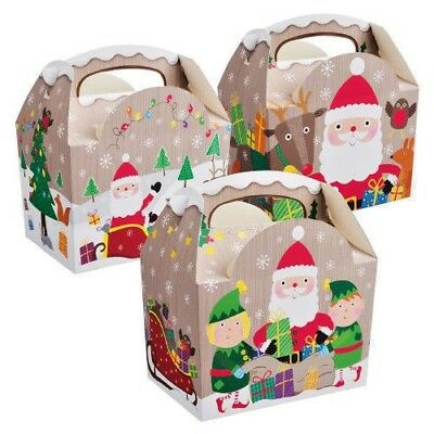 Christmas Children's Party Box's Compostable recyclable & biodegradable