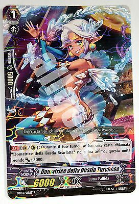 BT03/031IT-R 1x DOMATRICE DELLA BESTIA TURCHESE Rara Cardfight Vanguard CFV