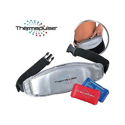 ThermaPulse Wireless Hot & Cold Full Body Vibrating Massager Pain Relief Belt