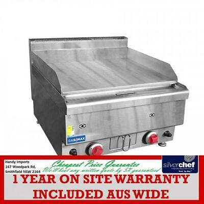 Fed Commercial Gasmax Benchtop 2 Bunner Griddle Grill Bbq Lpg Gas Jus-Trg40Lpg