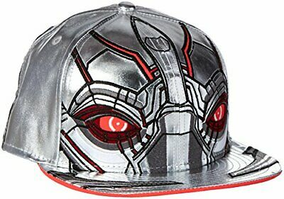 285788df Ultron Character Armor Men's Marvel Comics New Era 59Fifty Fitted Hat Cap