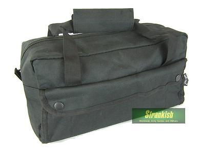 BRITISH ARMY / POLICE STYLE TOOL BAG in BLACK 12x5x6