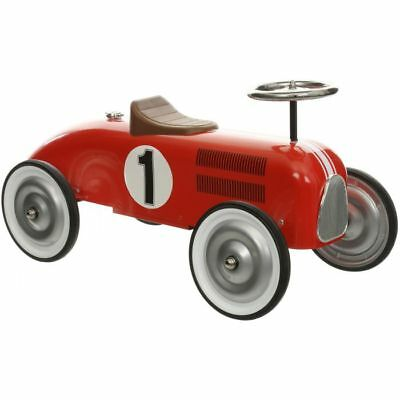 Halfords Boys Girls Kids Children Classic Retro Racing Ride On Push Along Car