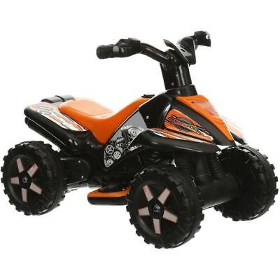 Roadsterz Boys Girls Kids 6V Rechargable Battery Electric Ride On Quad Bike ATV