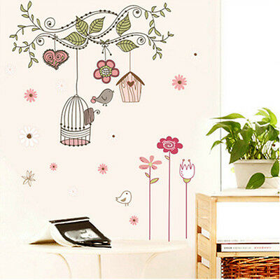 DIY Removable Tree Wall Decals Kids Bedroom Baby Nursery Stickers Art Room Decor