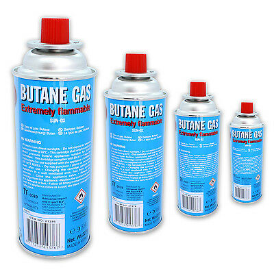 4 Bottles à butane gas 227 g cooker Weed burner