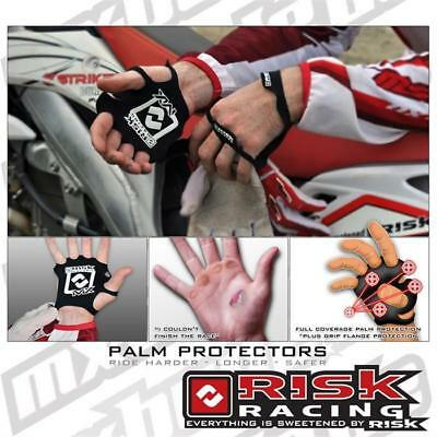 Risk Racing Palm Protectors S M schwarz Motocross Enduro Cross MTB Quad MX FMX