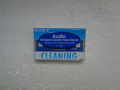 Vintage Audio Cassette SONY C-1KD Head Cleaner * Rare From Japan *