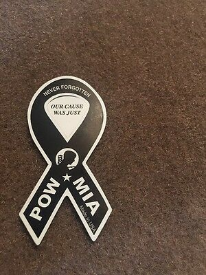 POW MIA Mini Ribbon Magnet