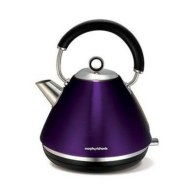 Morphy Richards 102020 Accents Pyramid Kettle - Plum