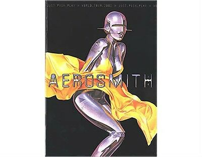 AEROSMITH Just Push Play 2001 TOUR PROGRAMME Memorabilia NEW