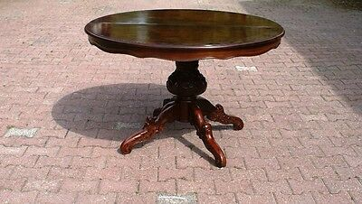 Antique Baroque Dining Table / Centre Table