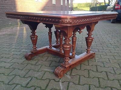 Antique Baroque Dining Table -1900-