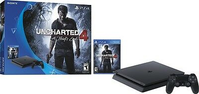 -/*BRAND NEW*- SONY PlayStation 4 Slim Console Uncharted 4: A Thief's End!