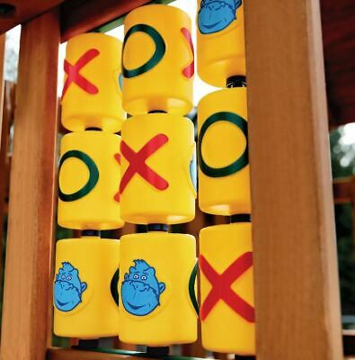 Swing Set Stuff Tic Tac Toe Spinners Set Of 9 Playground Accessory