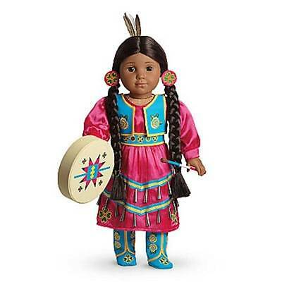 "American Girl KAYA JINGLE DRESS OF TODAY Outfit Dress 18"" Doll Native Indian NEW"
