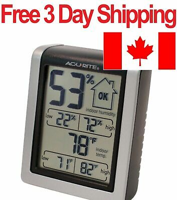 AcuRite 613 Digital Thermometer and Humidity Monitor