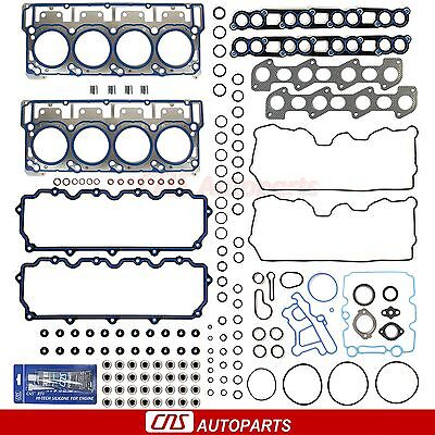 2003-10 Ford 6.0L E-350 F-250 F-350 DIESEL TURBO MLS HEAD GASKET SET 18mm Dowels