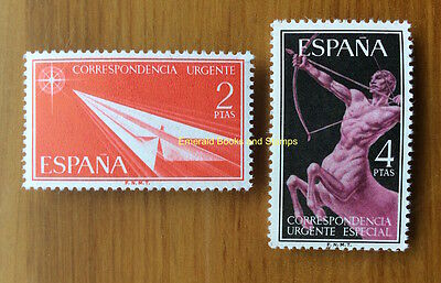EBS Spain España 1956 Express Post  1071-1072**