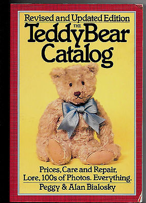 "Book, Teddy Bear Catalog, Revised By Bialosky 224 Page 9""x6"" Soft Cover 1984"