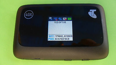 [ Used Unlocked ] ZTE MF910 4GX  4G Wifi Modem Optus Vodafone Telstra