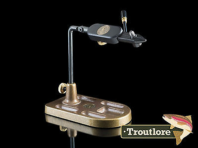 Regal Medallion Pocket Base Vise Traditional Jaws - Usa Made New Fly Tying Tool
