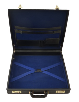 Provincial Masonic Regalia Case Inc Engraved Name Plate - LR056