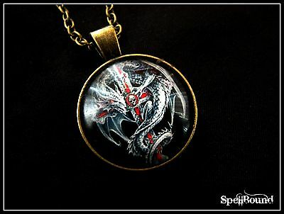SPELL-INFUSED Power & Success DRAGON Necklace 99% ACCURATE Amulet TALISMAN Witch