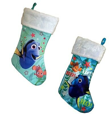 FINDING DORY NEMO Boys Girls Christmas Stocking Kids Childrens Xmas Decoration